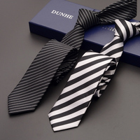 High Quality 2019 Fashion New Silk Formal Wedding Ties for Men Tie slim 6cm Necktie Designers Casual Neck Tie with Gift Box