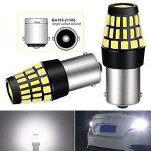 P21W 1156 LED Car Automotive Turn Signal Reverse Brake Light For Peugeot 206 207 208 307 308 407 508 2008 3008 Citroen C4 C5 C3
