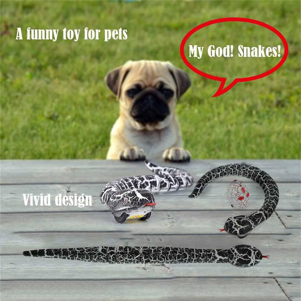 OCDAY RC wąż i jajko emote Control grzechotnik zwierząt sztuczka przerażające psotne zabawki dla dzieci śmieszne nowość prezent nowy gorący