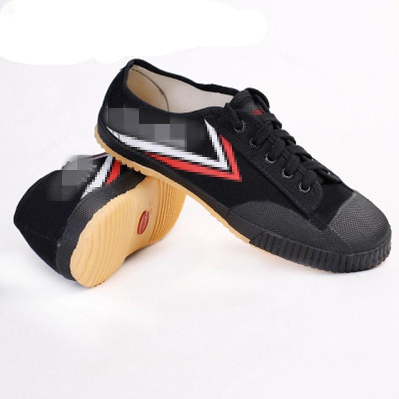 Профессиональная обувь Wushu Kungfu Winchun Taichi Униформа унисекс Классическая черно-белая обувь