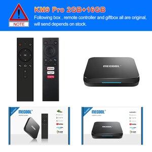 Image 5 - Max 4GB RAM 128GB ROM Mecool Android TV 10.0 KM3 TV kutusu Android 9.0 Google sertifikalı S905X2 4K akıllı medya oynatıcı KM9 PRO ATV