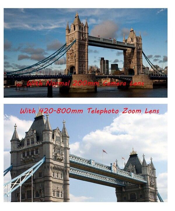 Супер телеобъектив jintu 420 800 мм f/83 ручной объектив для
