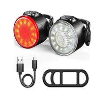 Venda quente usb recarregável xpe bicicleta frente luzes traseiras led equitação lâmpada farol à prova dwaterproof água e lanterna traseira # l4