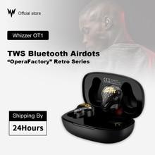 Whizzer OT1 TWS słuchawki Bluetooth 3D Stereo bezprzewodowe słuchawki douszne NC sportowy zestaw słuchawkowy hifi bass wodoodporny Bluetooth Airdots z mikrofonem