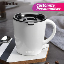 Simita Coffee Mug,Stainless Steel Beer Coffee Cup, Customize,Double Wall Heat Resistant Tea Mug,Eco-Friendly Thermocup