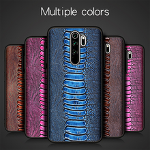 Luxury Natural Genuine Leather Skin Phone Case Cover On For Xiaomi Redmi Note 8 Pro Note8 8Pro Global 6/8 64/128 GB Xiomi Bumper