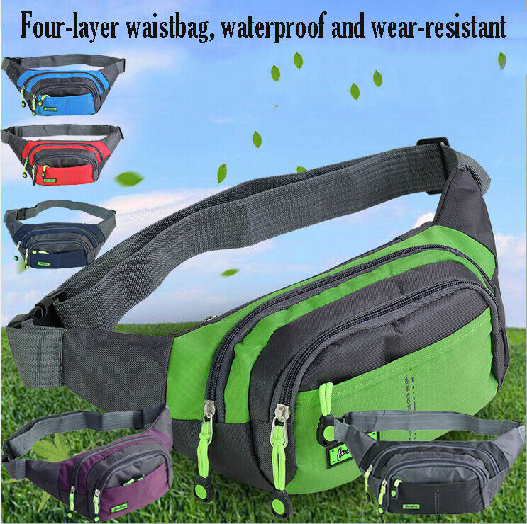 NEW 2020 Bum Bag Fanny Pack Pouch Travel Festival Waist Belt Leather Holiday Money Wallet