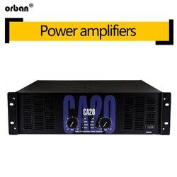 Orban profesjonalny wzmacniacz wysokiej mocy CA20 czysty post-etap 1300W moc dźwięku wzmacniacz KTV etap wzmacniacz mocy