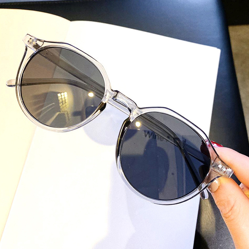 Vintage Candy Color Rivet Round Sunglasses For Women And Men 2020 Fashion  Black Orange Clear Sun Glasses Female Goggle Shades