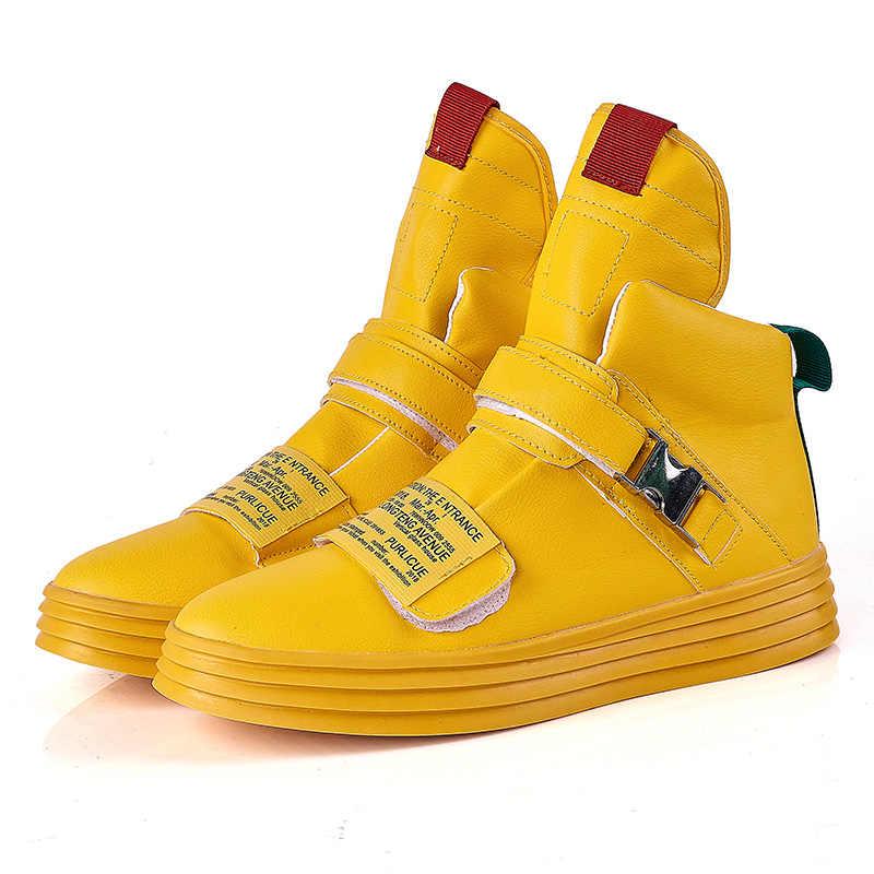 Orijinal Erkek Tıknaz Ayakkabı Platformu Kalın Taban Yüksek Topuk Rahat Vulkanize Ayakkabı Web Ünlü Baba Erkek moda Spor Ayakkabı Tasarımcısı