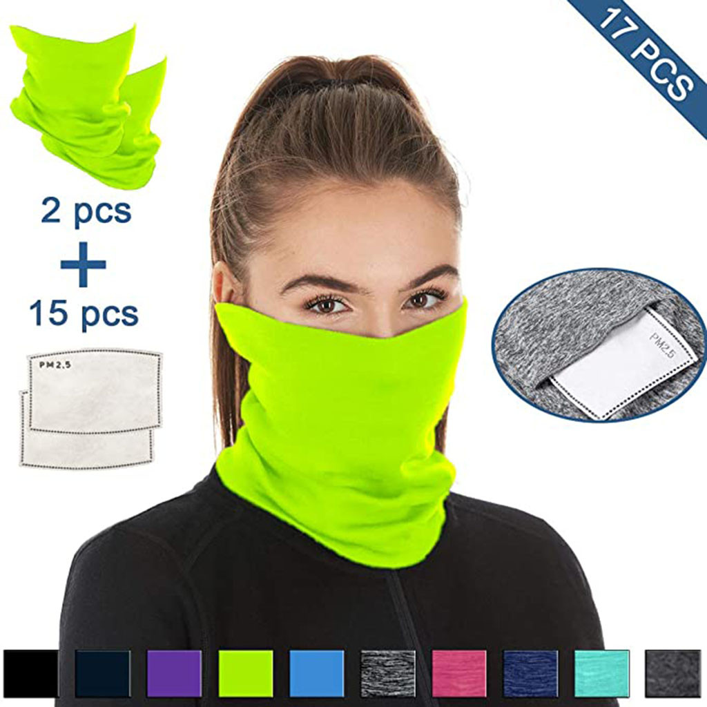 He76c1d660fab41e79f3a0dc02ffd9fc2H Multifunctional Head Scarf Maske Facemask Face Mouth Neck Cover With Safety Filter Mascarillas Washable Bandanas Reusable