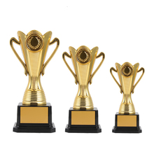 цена на 2020 Custom Trophy Cup Award Sports Trophies Gold Plated Trophy Cup Ceremony Gifts Team Sports Competition Craft Souvenir Trofeu