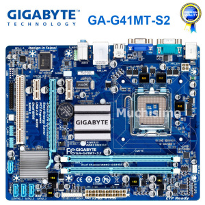 GIGABYTE GA-G41MT-S2 Desktop Motherboard G41 Socket LGA 775 For Core 2 DDR3 8G Micro ATX Original Refurbished G41MT-S2 Mainboard