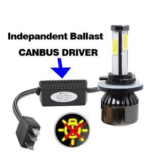 Image 3 - Mini phares de voiture, phares antibrouillards, sans erreur, 12V, D2S D1S D3S D4S LED H4 H7 Canbus H15 H13 4 côtés, 12000lm, 6500K 3000K