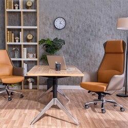 طويل القامة التنفيذي مكتب كرسي للرئيس الجلود مكتب كرسي كرسي الكمبيوتر مهمة المؤتمر
