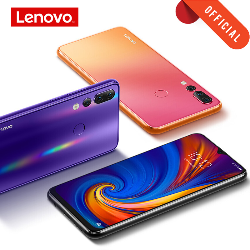 Lenovo Z5S 4G 6GB <font><b>64GB</b></font> / 128G Global ROM 6.3 inch <font><b>Smartphone</b></font> Z5 s Triple Rear Camera cellphone Snapdragon 710 <font><b>celular</b></font> Android P image