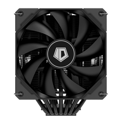 ID-COOLING SE-207-XT Dual Tower Cooling Fan Small 4 pin 7 Heatpipes High Air Flow CPU Cooler for LGA 1200 115x 2011 2066 AM4