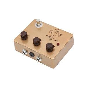 Image 4 - Altın Rengi Klon Centaur Efekt Pedalları Aşırı Sürücü Metal Kabuk Pedallar Elektro Gitar