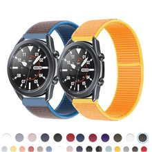 20 mm 22mm náilon pulseiras de relógio para samsung galaxy 42 46mm engrenagem s3 huawei relógio gt 2 cinta correa ativo 2 pulseira pulseira