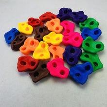 10 шт/лот Детские камни для скалолазания уличные настенные пластиковые