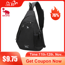 "OIWAS Womens Sling Shoulder Bag 18L Work Travel Fashion Corssbody Bag For 12"" Laptop Neutral Teens Students School University"