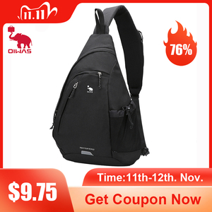 "Image 1 - OIWAS Womens Sling Shoulder Bag 18L Work Travel Fashion Corssbody Bag For 12"" Laptop Neutral Teens Students School University"