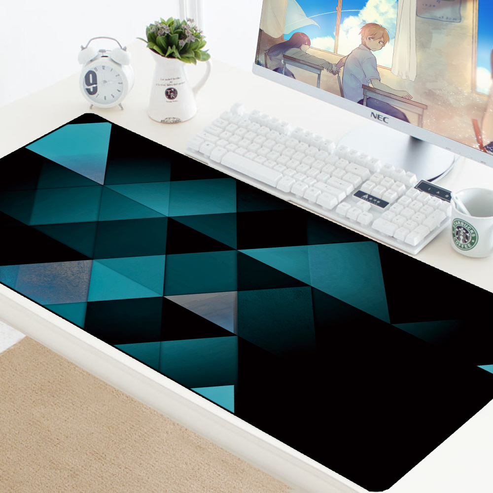 Carpet Mouse Pad Extended Large Gaming Mousepad Keyboard Lockable Washable Rubber Padmouse Gamer Big Play Pad Boy Gift HD Mats