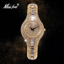 Часы missfox женские с браслетом из серебра 2020 пробы и золота