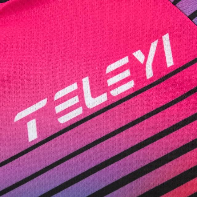 Triathlon terno roupas ciclismo conjuntos de corpo rosa roupa feminina macacão feminino triatlon kit 6