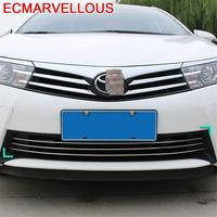Rear Bumper Grille Automobile Decorative Chromium Car Styling Modification Decoration Bright Sequins 14 15 16 FOR Toyota Corolla