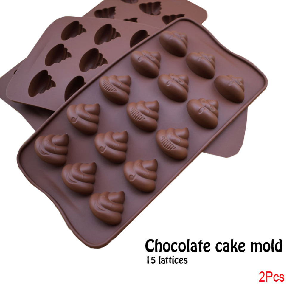 Christmas Design Silicone Baking Molds Made of High Quality Food Grade Silicone Material For Chocolate 9