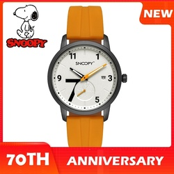 Мужские и женские кварцевые часы SNOOPY, оригинальные спортивные наручные часы с хронографом на 70-летие, с хронографом, ограниченная версия