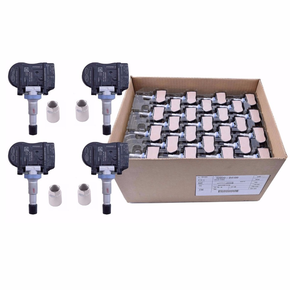 4 X TPMS para 2015-2022 Hyundai ELANTRA I30 I30 FASTBACK KIA OPTIMA NIRO Sensor de monitor de presión de neumático 52933-D4100 52933-F2000