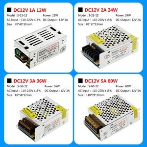 Image 3 - แสงTransformers AC110V 220V To DC12Vแหล่งจ่ายไฟอะแดปเตอร์1A 3A 5A 8A 10A 15A 20A 25A 30A 40A 50A LED Stripสวิทช์.