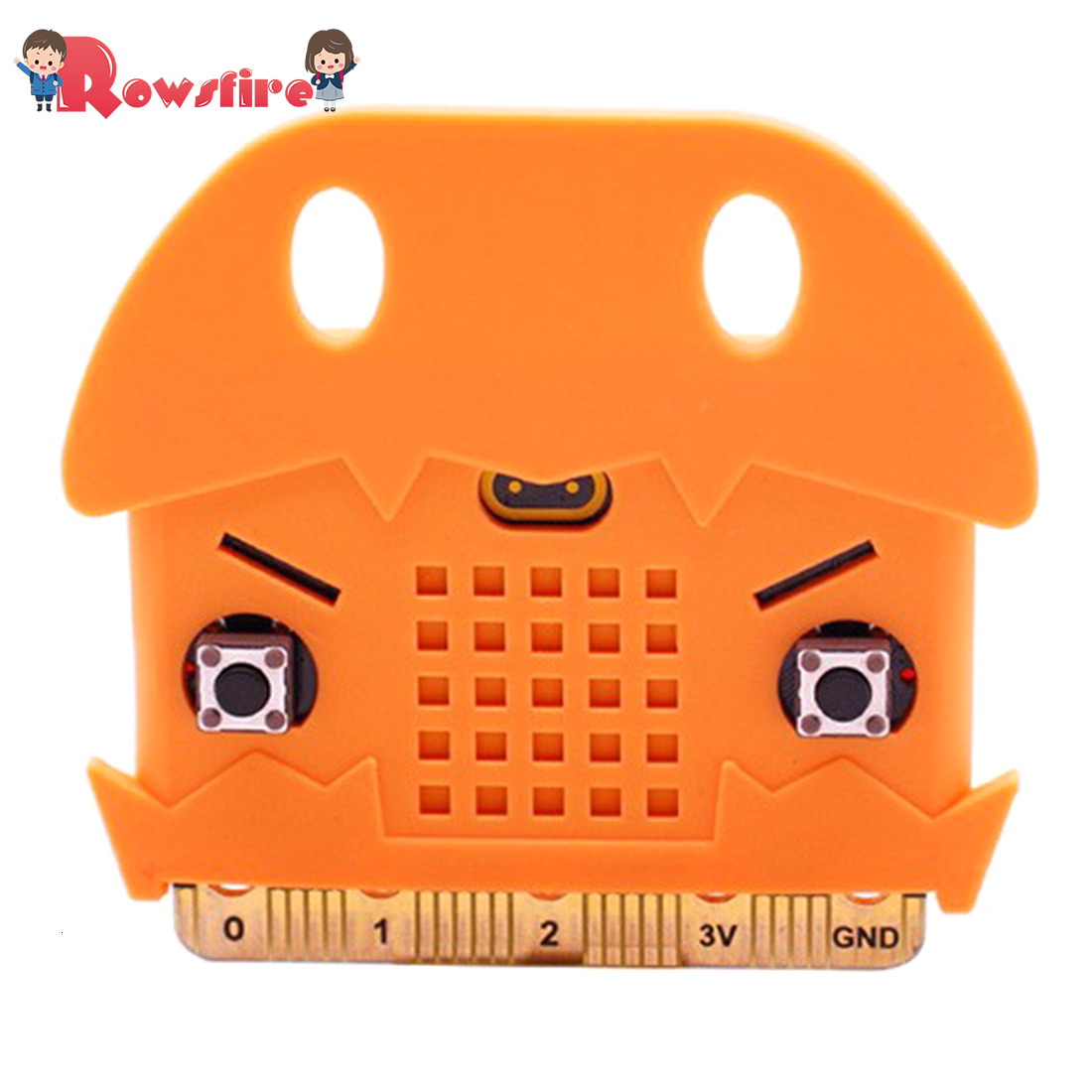 Protective Shell Silicone Protective Sleeve For Micro: Bit Development Board - Light Orange