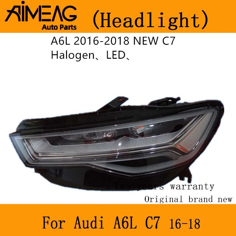 Made For  Original 2016 -2018 AUDI A6  C7 Full LED Headlight Assembly