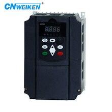 WK600 5.5kw 220v Single-phase 220V to Three-phase 220V VFD inverter to the motor made in China