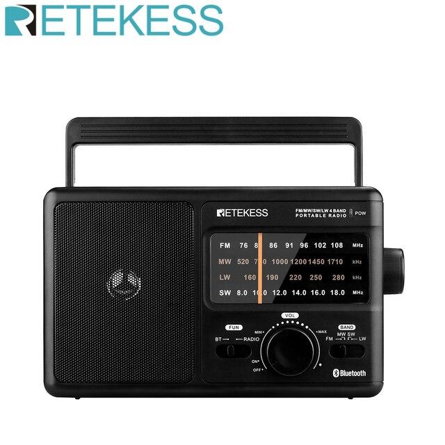 Радиоприемник RETEKESS TR626 AM/FM/SW/LW Bluetooth 1