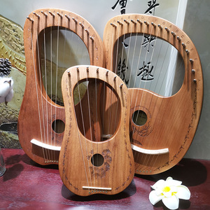 Image 2 - 7/10/16 آلة موسيقية خشبية الوترية آلة موسيقية Mahony الصلبة القيثارة الآلات