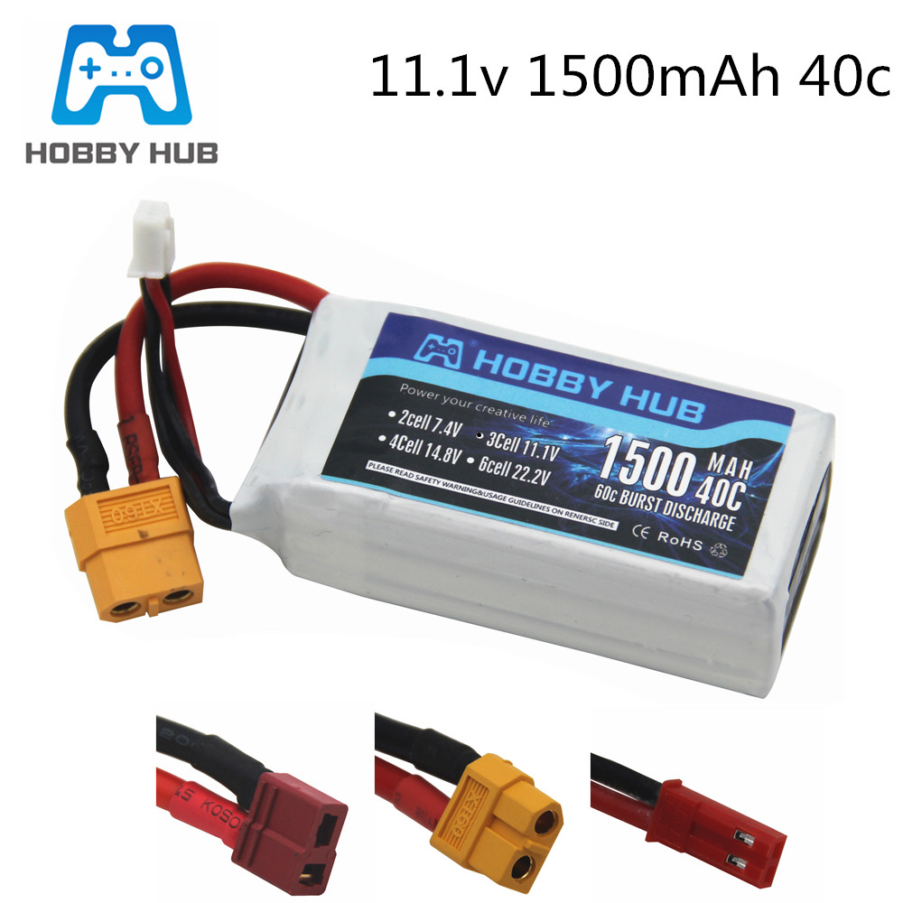 3S 11.1v 1500mAh LiPo Battery For Rc Car Helicopter Airplane 11.1 V Rechargeable Lipo Battery T/XT60/JST Plug For WLtoys V950