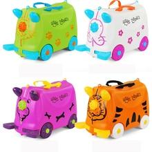 Модные чемоданы для путешествий, коляски, чемоданы, Многофункциональные чемоданы для коляски, чемодан для езды, Детская коробка