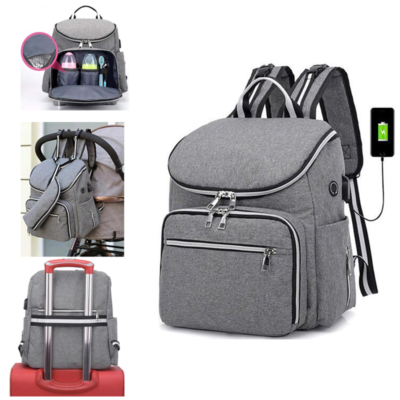Stroller Bag Backpack Baby Diaper Bags Nappy Mother Maternity Mommy Wet Infant For Baby Care Organizer Bag