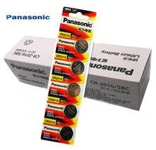 100PCS Panasonic Original Top Quality 3V cr2016 Botão Bateria de Relógio Bateria De Lítio Coin Baterias cr 2016 DL2016 ECR2016