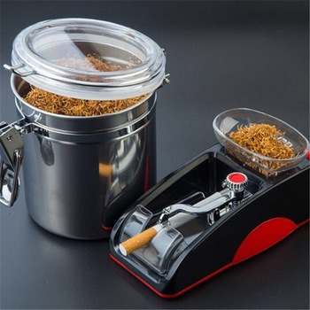 DIY Electric Cigarette Machine Easy Automatic Making Rolling Machine Tobacco Electronic Injector Maker Roller Smoking Tool niceyard portable cigarette maker smoking accessories rolling machine tobacco roller