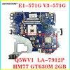 Dla Acer aspire E1-571G E1-571 V3-571 V3-571G laptopa płyty głównej płyta główna w Q5WV1 LA-7912P DDR3 GT630M 2G karta graficzna 100% test w stanie nienaruszonym
