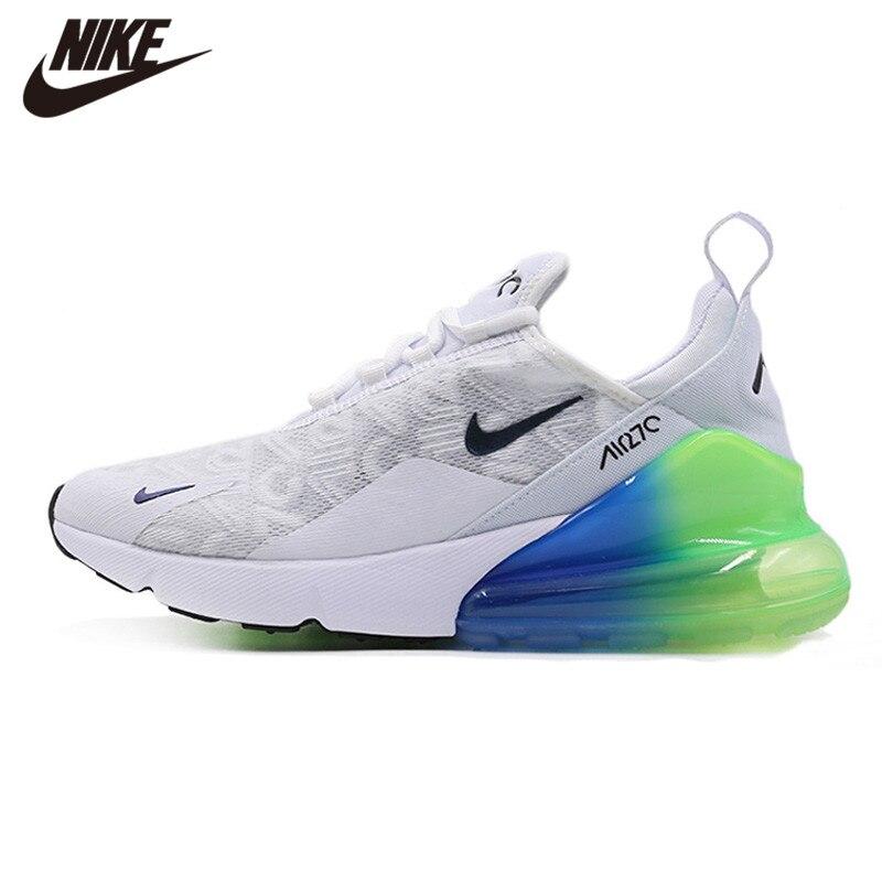 Original Nike Air Max 270 Men's Running Shoes New Sport Outdoor Sneakers Fashion Jogging Athletic Designer Footwear