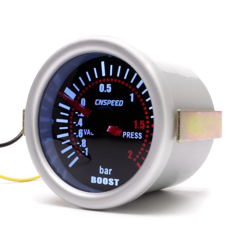 52mm Turbo Boost Gauge Pressure LED Display Vacuum Meter High Accuracy Easy Operation PSI Turbo Pressure Gauge Car Accessories
