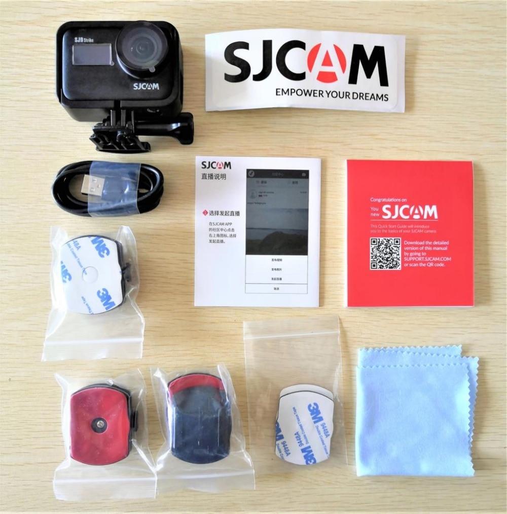 SJCAM SJ9 Strike 4K 60FPS WiFi Remote Helmet Action Camera 2.33 IPS Touch Screen Gyrp EIS Living Stream Extreme Sports DV Camer Pakistan