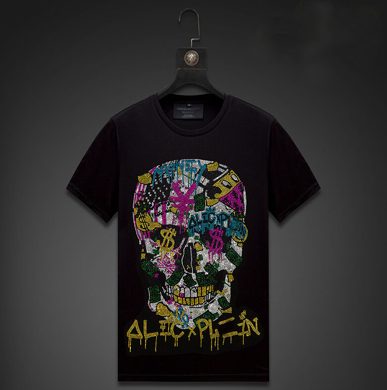 t shirts man and women  Hot drill  t shirt men/women tshirt High quality t-shirt Casual O-neck tops