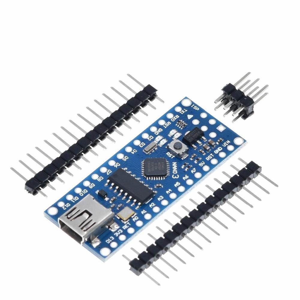 Płytka Nano CH340/ATmega328P bez kabla USB, kompatybilna z Arduino Nano V3.0 (bez kabla) 6